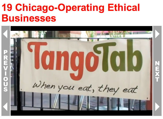 TangoTab Most Ethical Businesses
