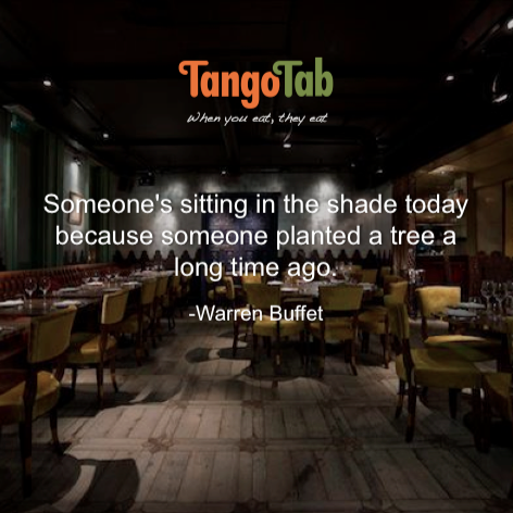 TangoTab Warren Buffet Quote