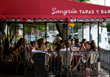 Sangira Patio Dallas TangoTab